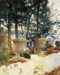 Art Prints of Corfu, the Terrace by John Singer Sargent