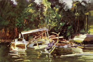 Art Prints of Derelicts by John Singer Sargent