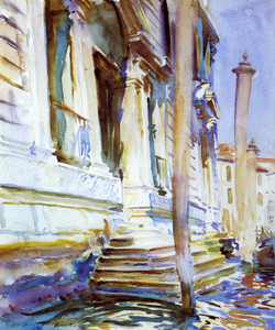 Art Prints of Doorway of a Venetian Palace by John Singer Sargent