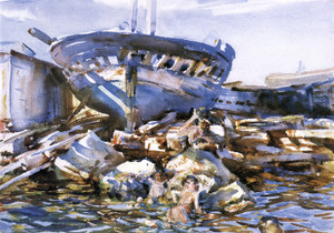 Art Prints of Flotsam and Jetsam by John Singer Sargent