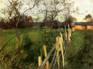 Art Prints of Home Fields by John Singer Sargent