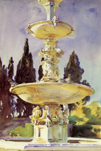 Art Prints of In a Medici Villa by John Singer Sargent