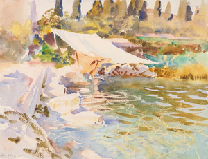 Art Prints of Lake Garda by John Singer Sargent