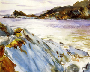 Art Prints of Loch Moidart Inverness-shire, Scotland by John Singer Sargent