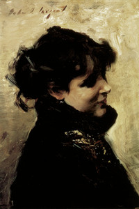 Art Prints of Madame Errazuriz by John Singer Sargent