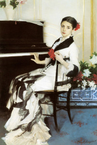 Art Prints of Madame Ramon Subercaseaux by John Singer Sargent