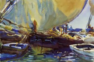 Art Prints of Melon Boats by John Singer Sargent