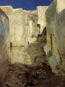 Art Prints of Moroccan Street by John Singer Sargent