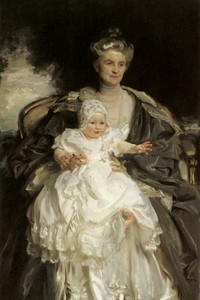 Art Prints of Mrs. Henry Phipps and her Grandson Winston by John Singer Sargent