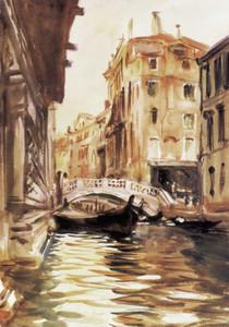 Art Prints of Ponte Della Canonica by John Singer Sargent