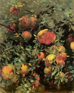 Art Prints of Pomegranates II 1908 by John Singer Sargent