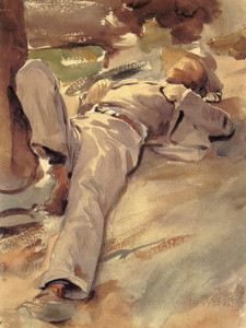 Art Prints of Peter harrison, Siesta by John Singer Sargent
