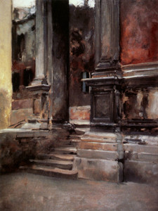 Art Prints of Portico di San Rocco by John Singer Sargent