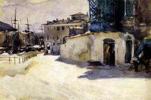 Art Prints of Port Scene II by John Singer Sargent
