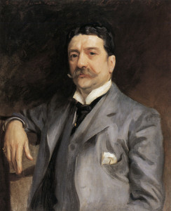 Art Prints of Portrait of Louis Alexander Fagan 1893 by John Singer Sargent