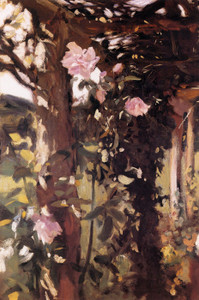 Art Prints of Roses at Oxfordshire 1886 by John Singer Sargent
