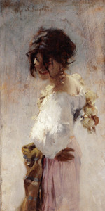 Art Prints of Rosina by John Singer Sargent