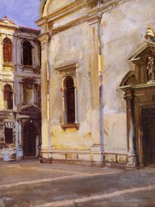 Art Prints of Santa Maria del Carmelo by John Singer Sargent