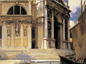 Art Prints of Santa Maria Della Salute by John Singer Sargent