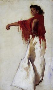 Art Prints of Spanish Gypsy Dancer by John Singer Sargent