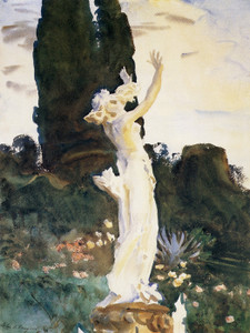 Art Prints of Statue of Daphne by John Singer Sargent