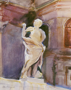 Art Prints of Statue of Saint Mark, Venice by John Singer Sargent
