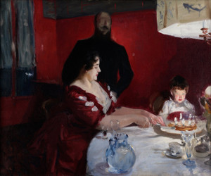 Art Prints of The Birthday Party by John Singer Sargent