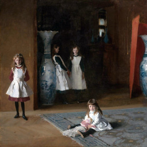 Art Prints of The Daughters of Edward Darley Boit by John Singer Sargent