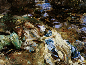 Art Prints of The Brook by John Singer Sargent