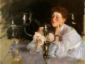 Art Prints of The Candelabra by John Singer Sargent