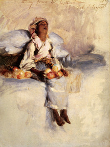 Art Prints of The Little Fruit Seller by John Singer Sargent