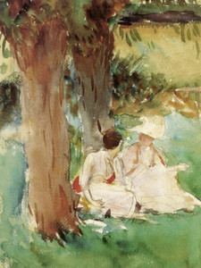 Art Prints of Under the Willows II by John Singer Sargent