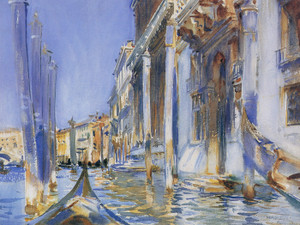 Art Prints of View of the Grand canal by John Singer Sargent