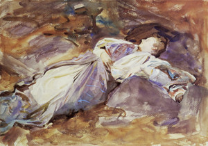 Art Prints of Violet Sleeping by John Singer Sargent