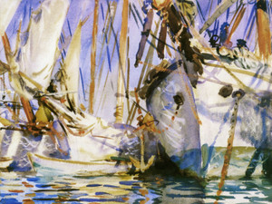 Art Prints of White Ships by John Singer Sargent
