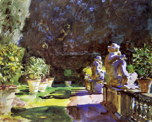Art Prints of Villa di Marlia Lucca by John Singer Sargent