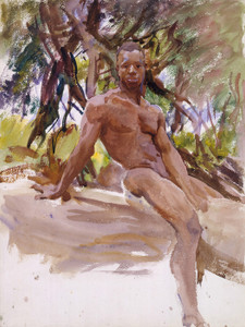 Art Prints of Man and Trees, Florida by John Singer Sargent