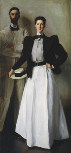 Art Prints of Mr. and Mrs. Phelps Stokes by John Singer Sargent