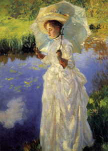 Art Prints of Morning Walk by John Singer Sargent