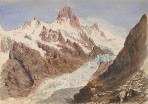 Art Prints of The Schreckhorn by John Singer Sargent