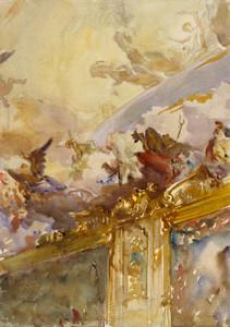 Art Prints of Tiepolo Ceiling, Milan by John Singer Sargent