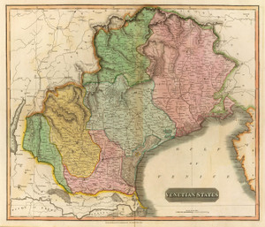 Art Prints of Venetian States, 1816 (1007028) by John Thomson