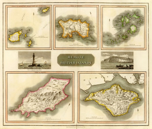 Art Prints of Remote British Islands, 1817 (1007014) by John Thomson