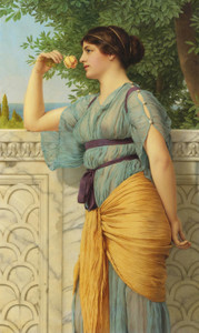 Art Prints of Memories by John William Godward