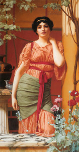Art Prints of Nerissa by John William Godward