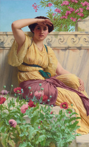Art Prints of A Tryst by John William Godward