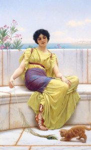 Art Prints of Idleness by John William Godward