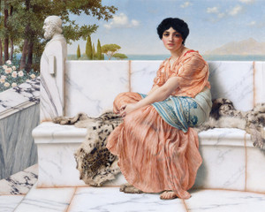 Art Prints of In the Days of Sappho by John William Godward