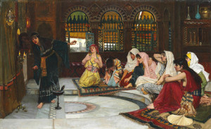 Art Prints of Consulting the Oracle by John William Waterhouse