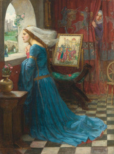 Art Prints of Fair Rosamund by John William Waterhouse